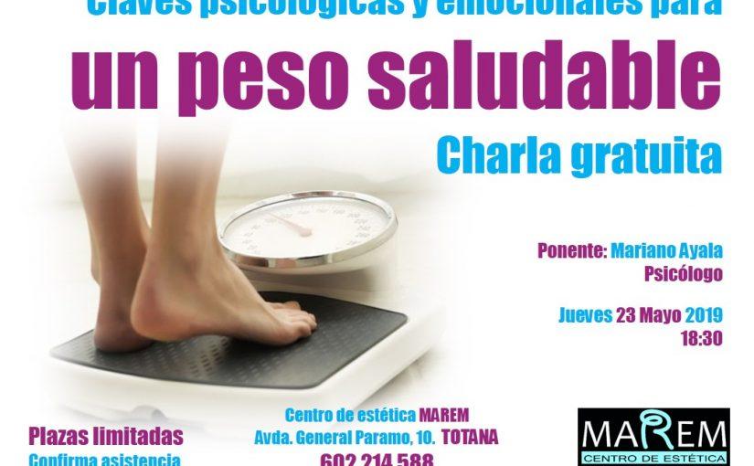 Charla Gratuita: Claves psicológicas y emocionales para un peso saludable