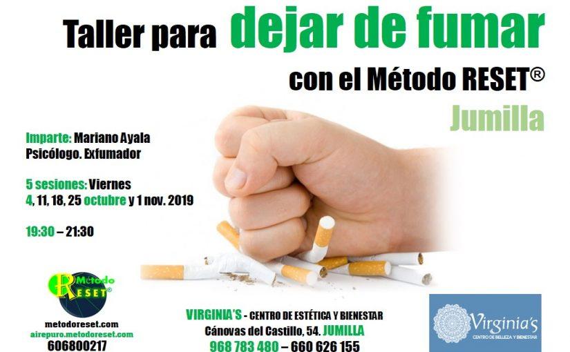 Jumilla: Taller para dejar de fumar