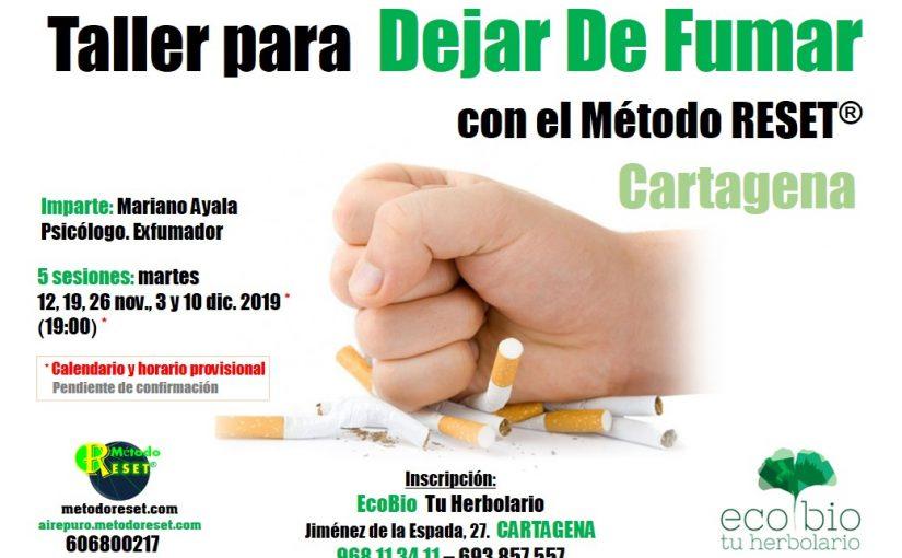 Cartagena: Taller para Dejar de Fumar
