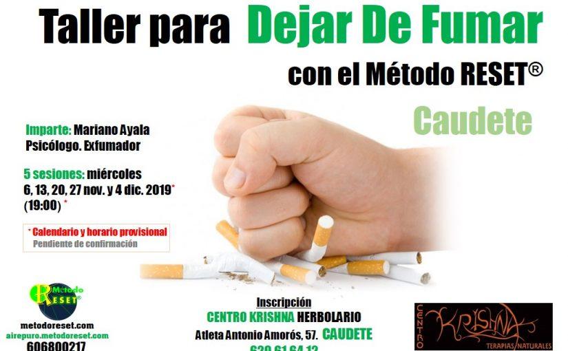 Caudete: Taller para Dejar de Fumar