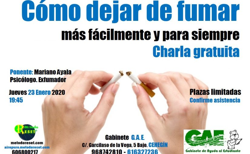 Cehegín: Charla Gratuita