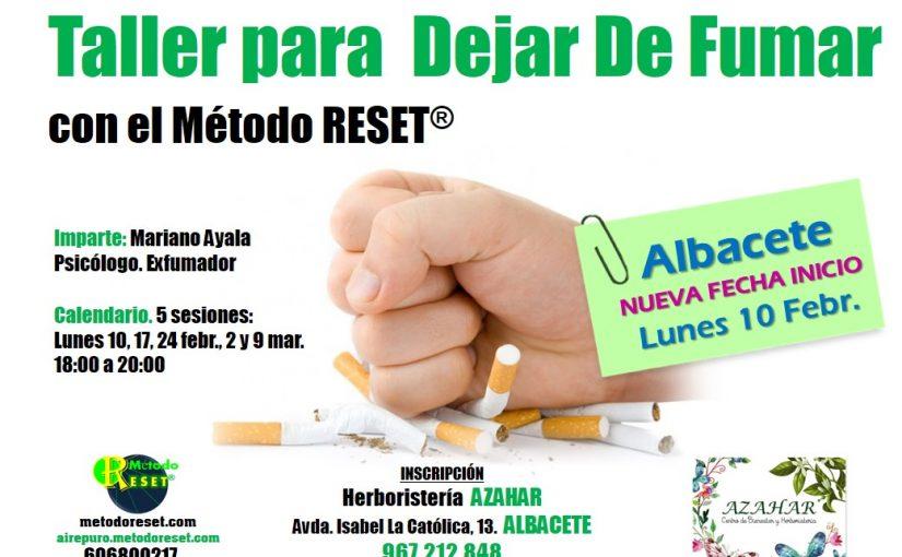 Taller para dejar de fumar (Albacete)